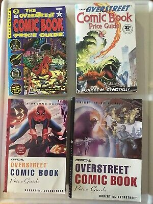 Overstreet's Comic Book PRICE GUIDE 30th 31st 32nd 33rd  Edition 2000-2003