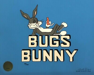"Original Warner Brothers Limited Edition Cel ""Bugs Bunny"" signed Chuck Jones"