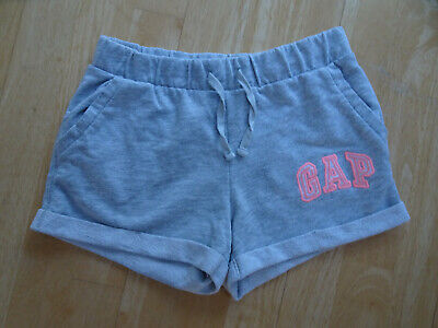 GAP girls grey jersey summer shorts AGE 10 - 11 YEARS EXCELLENT COND