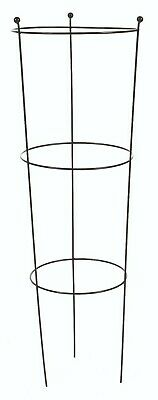 Metal Conical Garden Cage Plant Support Flower Frame Heavy Duty Extra Tall 120cm