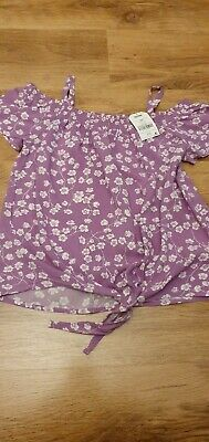 Girls Next Summer Off Shoulder Style Top Age 12 Bnwt