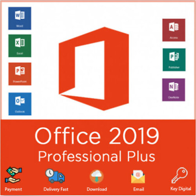 MS Office 2019 Pro Professional Plus Activation Key for windows 10 pro + link