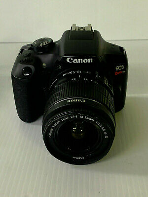 Canon EOS Rebel T6 Digital SLR Camera with Canon 18-55mm Lens