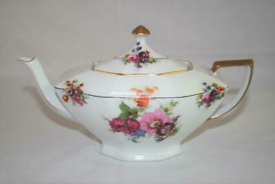 Victoria Czechoslovakia 2592 Maytime 3 cup Floral Teapot