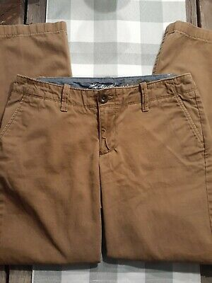 Women's size 2 Eddie Bauer Legend Wash khaki pants