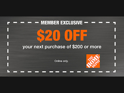 One 1x Home Depot $5 OFF $50Coupon-INSTORE ONLY -Fast-Delivery--