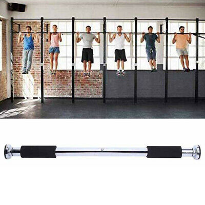 Adjustable Pull up Bar Gym Exercise Training Chin up Fitness Door Wall UK HOT