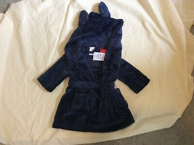 New Baby Boy Size 00 Bunny Gown