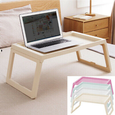 Laptop Table Folding Desk Stand Bed Tray Sofa Computer Study Home Portable