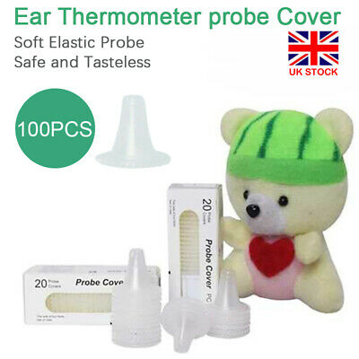 NEW Probe Covers Thermoscan Replacement Lens Ear Thermometer Filter Caps lot UK