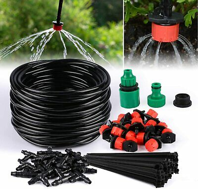 TedGem Kit Irrigation Goutte a Goutte, d'arrosage automatique systeme DIY
