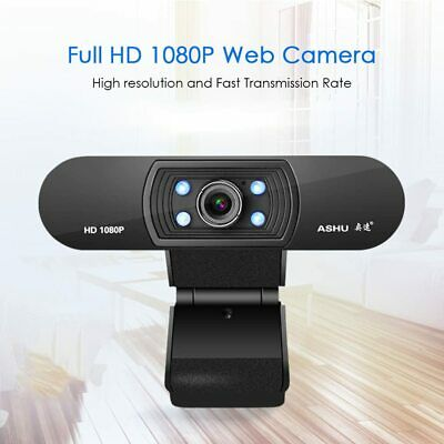 New Digital USB Web Cam Camera HD 1080P Video Calling Teleconference Camera