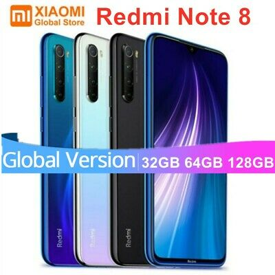 Global Version Xiaomi Redmi Note 8 32GB 64GB 128GB Smartphone Unlocked Octa Core