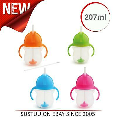 Munchkin Click Lock Tip & Sip Straw Cup│Baby's Drink Training Cup│200ml│