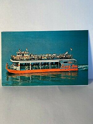 The Larry Don Excursion Boat Lake of the Ozarks Vintage Postcard