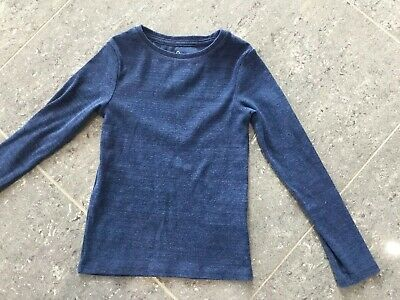 Next Girl's Long Sleeve Blue Top - Age 7