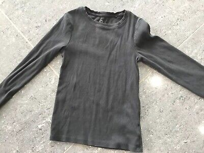 Next Girl's Long Sleeved Grey Top - Age 9