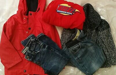 Kids Bundle Clothes Boys aged 3 - 4 yrs Jeans Coat jumper All in one
