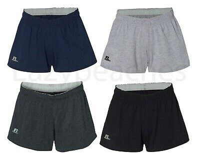 Russell Athletic - Women's S-2XL Cotton Blend Active Performance Gym Shorts