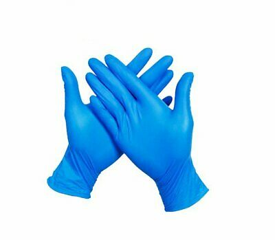 100Pcs PVC Disposable Cleaning Protective Gloves Untouch Hand Cover Supplies