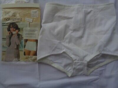 Vintage Sears Firm Shaping Natural Fit II Panty Panties Girdle Brief  XL 31-32