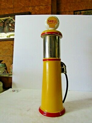Pacesetter Shell Oil Antique Gas Pump Decanter