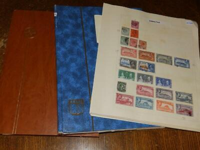 (4984) Commonwealth Collection M & U In 2 Stock Albums + Pages