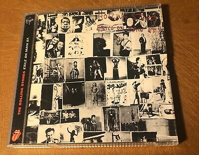 THE ROLLING STONES: Exile on Main Street CD Limited Edition '94 LP Cover