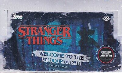 Topps Stranger Things Welcome To The Upside Down Hobby Box  2 Hits
