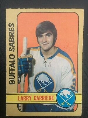 Old Vintage Nhl 1972-73 72-73 O-Pee-Chee Opc Hockey Card #282 Larry Carriere