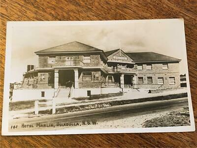 C 1948 Marlin Hotel Ulladulla New South Wales architecture postcard pub beer