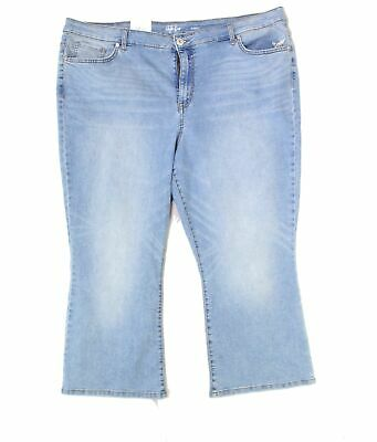 Style & Co. Women's Blue Size 18W Plus High Rise Stretch Ankle Jeans $59 #188