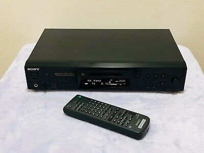Minidisc MDLP Player Recorder Deck Sony MDS-JE770 Type-R Mini Disc with Remote