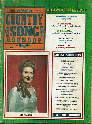 COUNTRY SONG ROUNDUP  Volume 22  #133   Aug 1970