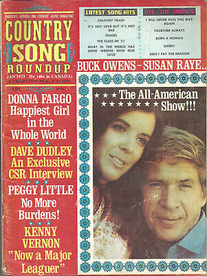 COUNTRY SONG ROUNDUP  Volume 25  #162  Jan 1973