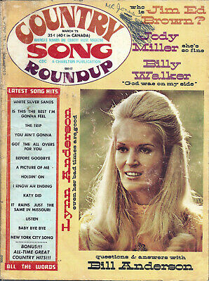 COUNTRY SONG ROUNDUP  Volume 25  #164  Mar1973