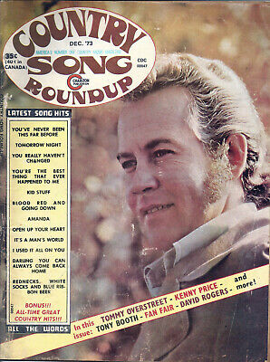 COUNTRY SONG ROUNDUP  Volume 25  #173  Dec 1973
