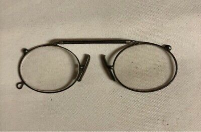 Antique Armless Spectacles with case James Brown of Glasgow