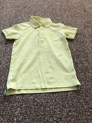 Matalan Boys Age 7 Years Fantastic Yellow Polo Shirt Exc Design Exc Cond
