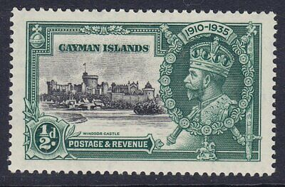 CAYMAN ISLANDS 1935 SG108 1/2d SILVER JUBILEE UNMOUNTED MINT