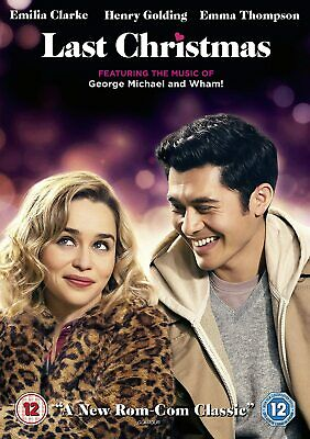 Brand New  'Last Christmas' Dvd Featuring Music From George Michael & Wham