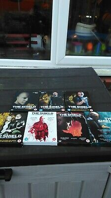 The Shield - Series 1-7  collection box set action adventure cult drama
