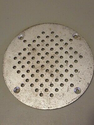 "Commercial Floor Drain Strainer Cover 8 1/2"" Round"