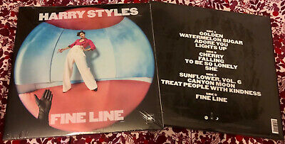 Harry Styles Fine Line Sealed Double Vinyl LP Includes Adore You & Falling