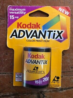 Kodak Advantix Color Print Film ISO 200 15 Exposure NOS APS