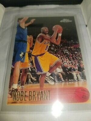 KOBE BRYANT Rookie RP #138 Lakerc RC '96 Chrome Free Shipping Great condition