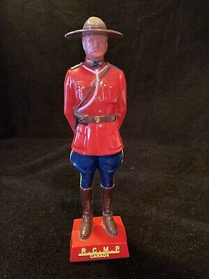 Vtg RCMP Royal Canadian Mounted Police Reliable Plastic Mounty Souvenir Figure