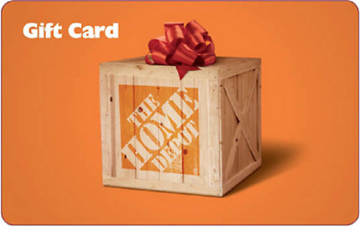 $500 Home Depot Gift Card USA No Expiration