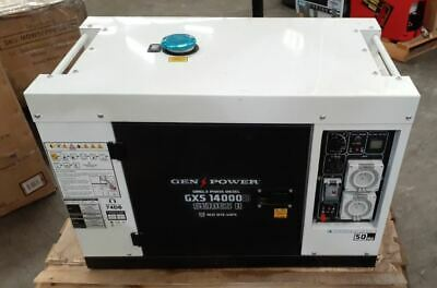 8.4kVA Max 6kVA Rated Diesel Generator Single Phase Commercial RCD