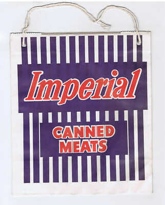 Original c.1960's Imperial Canned Meats Showbag - Australian Show Bag